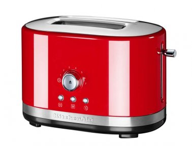 MANUAL CONTROL TOASTER RED