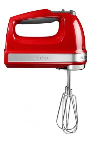 KITCHENAID 9 SPEED HAND MIXER RED