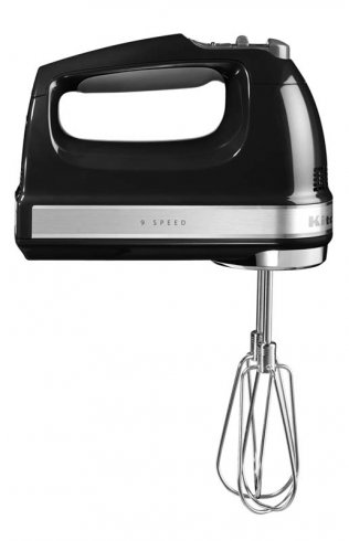 KITCHENAID 9 SPEED HAND MIXER BLACK