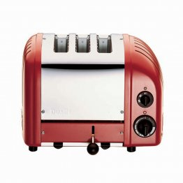 Dualit CLASSIC AWS 3 SLOT - RED