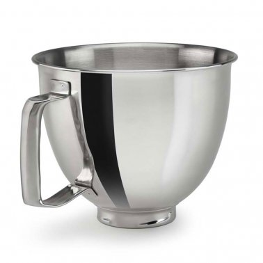 3.3L POLISHED BOWL WITH HANDLE FOR MINI MIXER