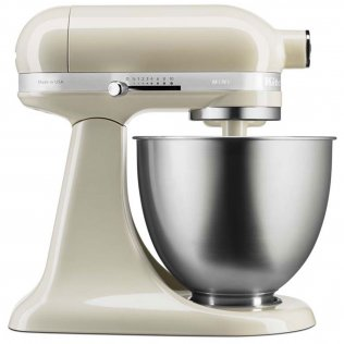 KITCHENAID MINI TILT HEAD STAND MIXER ALMOND CREAM