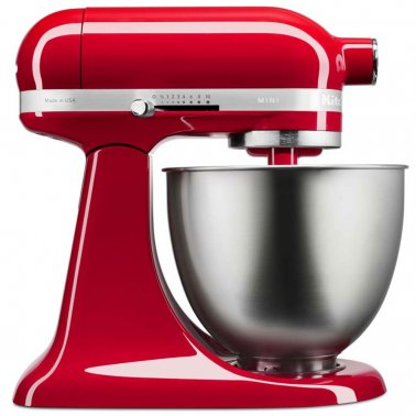 KITCHENAID MINI TILT HEAD STAND MIXER EMPIRE RED