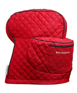 QUILTED MIXER COVER - RED